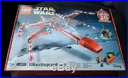 LEGO 4002019 X-wing Emloyees Christmas gift set NEW limited STAR WARS Yoda