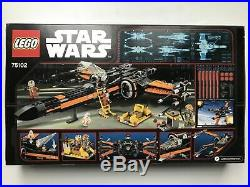 LEGO 75102 Poes X-Wing Fighter Star Wars New Sealed