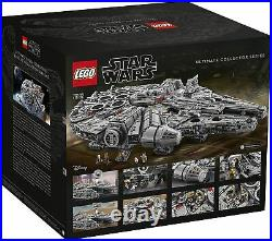 LEGO 75192 Star Wars Millennium Falcon 7541 Pieces Building Kit and Starship