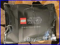LEGO (75192) Star Wars Millennium Falcon set box is damaged