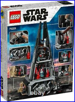LEGO 75251 Star Wars Darth Vader's Castle BRAND NEW SEALED