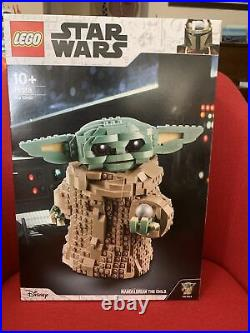 LEGO 75318 Star Wars Mandalorian The Child (brand new sealed) Express Post Avail