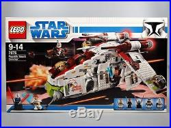 LEGO 7676 Star Wars Republic Attack Gunship NEW & SEALED