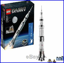 LEGO Ideas Nasa Apollo Saturn V (21309) And Creator Space Shuttle FREE TWO DAY