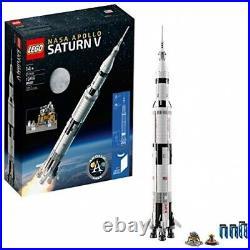 LEGO Ideas Nasa Apollo Saturn V 21309 Building Kit (1969 Piece) Free Shipping