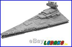 LEGO Komplett Set MOC für Star Wars Imperial Star Destroyer UCS 15314 Teile