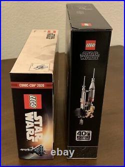 LEGO Nebulon B Frigate 77904 + Bespin Duel 75294 2020 SDCC Star Wars Celebration