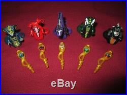 LEGO Ninjago Minifigures Lot. PYTHOR, ACIDICUS, SKALES, SKALIDOR, FANGTOM