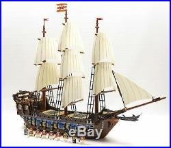 LEGO PIRATES CARIBBEAN 10210 IMPERIAL FLAGSHIP 100% with BOX & MINIFIGS FREE SHIP