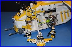 LEGO STAR WARS 75021 Custom PHASE I 327th Star Corps REPUBLIC GUNSHIP + Crew