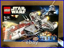 LEGO STAR WARS 7964 Republic Frigate RARE NO MINIFIGURES