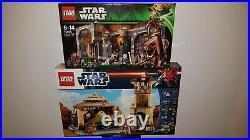 LEGO STAR WARS Jabba's Palace 9516 + Rancor Pit 75005 NEUF