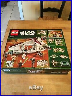LEGO STAR WARS Republic Gunship 75021 Brand New In Box