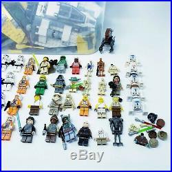 LEGO Star Wars 5 Lbs Bulk LOT 50+ Minifigures Cody Clone Troopers Luke Han Fett
