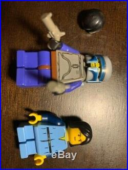 LEGO Star Wars 7153 Jango Fett Slave 1 with minifigures set lot Rare + Retired