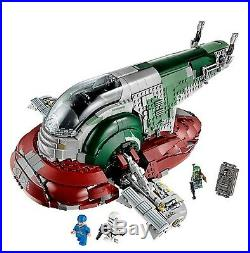 LEGO Star Wars 75060 UCS Slave 1 100% COMPLETE MINT RETIRED