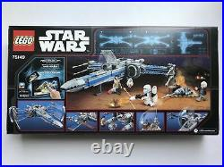 LEGO Star Wars 75149 Blue X-Wing Resistance Fighter New Sealed