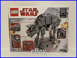 LEGO Star Wars 75189 First Order Heavy Assault Walker AT AT NEW SEALED