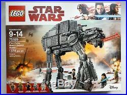 LEGO Star Wars 75189 First Order Heavy Assault Walker New Sealed