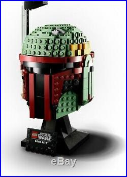 LEGO Star Wars 75277 Boba Fett Helmet Building Kit Cool Collectible Mask New