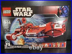 LEGO Star Wars 7665 Red Republic Cruiser RARE 2007 Set New In Sealed Box