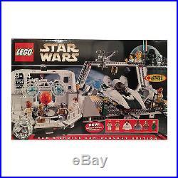 LEGO Star Wars 7754 Mon Calamari New in Sealed Creased Box Retired 6 minifigs