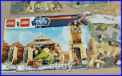 LEGO Star Wars 9516 JABBA'S PALACE Boushh Oola Gamorrean Guard Bib Fortuna Solo