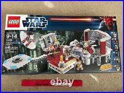 LEGO Star Wars 9526 Palpatine's Arrest New RETIRED Set 645pcs