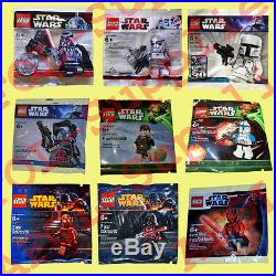 LEGO Star Wars 9x Limited Edition Minifiguren Superset 2009-2012