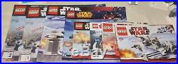 LEGO Star Wars AT-AT Walker 8129 Hoth Lot 100% Complete Rebel Base Taun Taun