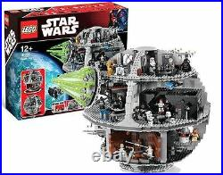 LEGO Star Wars Death Star 10188 new, some of the seals might be off or loose