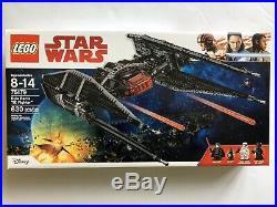 LEGO Star Wars Episode VIII Kylo Ren's Tie Fighter 75179 Brand New Sealed