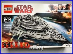 LEGO Star Wars First Order Star Destroyer 75190 New Sealed