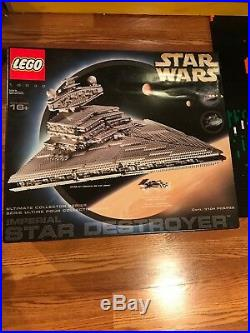 LEGO Star Wars Imperial Star Destroyer 10030 UCS MAKE OFFER Sealed From 2002 NIB
