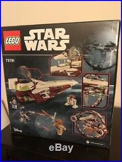 LEGO Star Wars Jedi Starfighter with Hyperdrive (75191) NEW