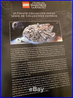 LEGO Star Wars Millennium Falcon 2017 UCS Ultimate Collectors Series (75192) NEW