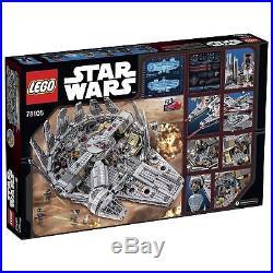 LEGO Star Wars Millennium Falcon Building Kit 75105 1329 Pieces
