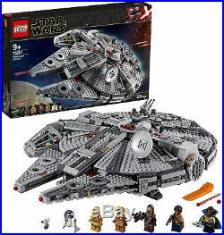 75257^^ Includes Minifigures^^ LEGO Star Wars Millennium Falcon Building Set