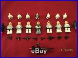 LEGO Star Wars Minifigure LOT. Commander Wolfe & Clone Troopers, Weapons