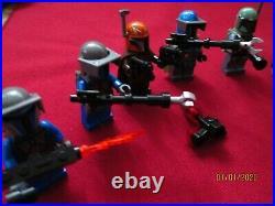 LEGO Star Wars Minifigures LOT. Mandalorian Troopers, Jango, Boba Fett, Weapons