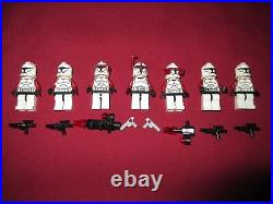 LEGO Star Wars Minifigures LOT Sargent, Clone Troopers Lot, Weapons