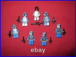 LEGO Star Wars Minifigures LOT Super Commando, Mandalorian Troopers, Jetpacks