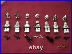 LEGO Star Wars Minifigures LOT, Wolfpack, Clone Gunner, Tank Troopers & Weapons