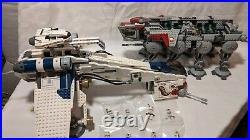LEGO Star Wars Republic Dropship with AT-OT Walker (10195) 100% Complete