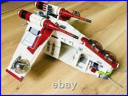 LEGO Star Wars Republic Gunship 75021- MANUALS INCLUDED