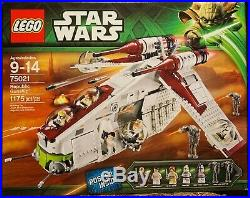 LEGO Star Wars Republic Gunship (75021) Retired Brand New in Box