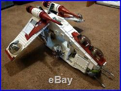 LEGO Star Wars Republic Gunship 75021 Used No Minifigs No Speeder Bike