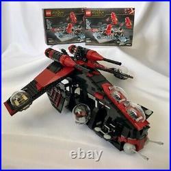 LEGO Star Wars Republic Gunship MOC Custom 75021 7676 Sith Shadow Ship 75266 100