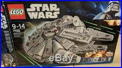 LEGO Star Wars Retired Millenium Falcon 7965 boxed with minifigures Xmas