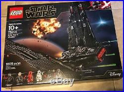 LEGO Star Wars Rise of Skywalker Kylo Ren's Shuttle 75256 set NEW Factory Sealed